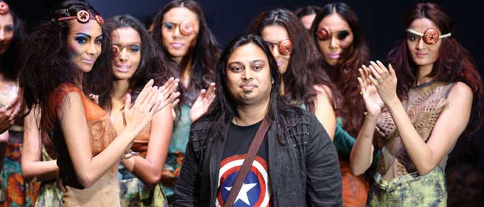 Designer Abhishek Dutta at BFW Bangkok Edition