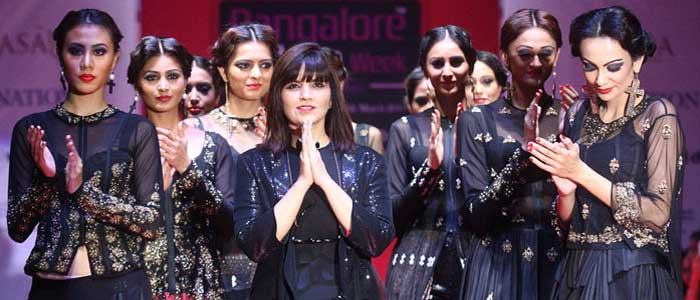 Designer Neeta Lulla at BFW Bangkok Edition