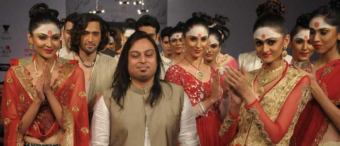 Designer Abhishek Dutta at BFW 8