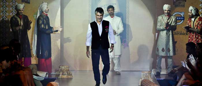 Designer Arjun Khanna at BFW 9th Edition