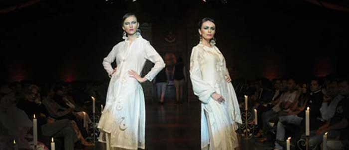 Designer Meera Muzafar Ali at BFW 7